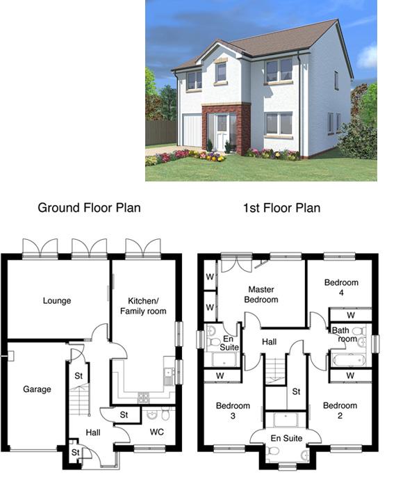 Alexander Floorplan