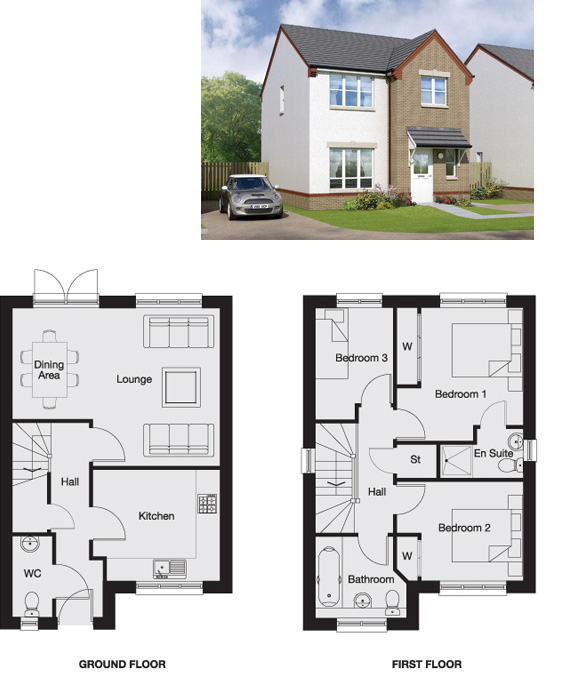 Berriedale Floorplan