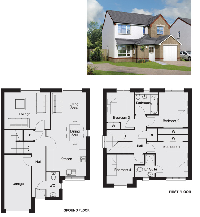 Eskdale Floorplan