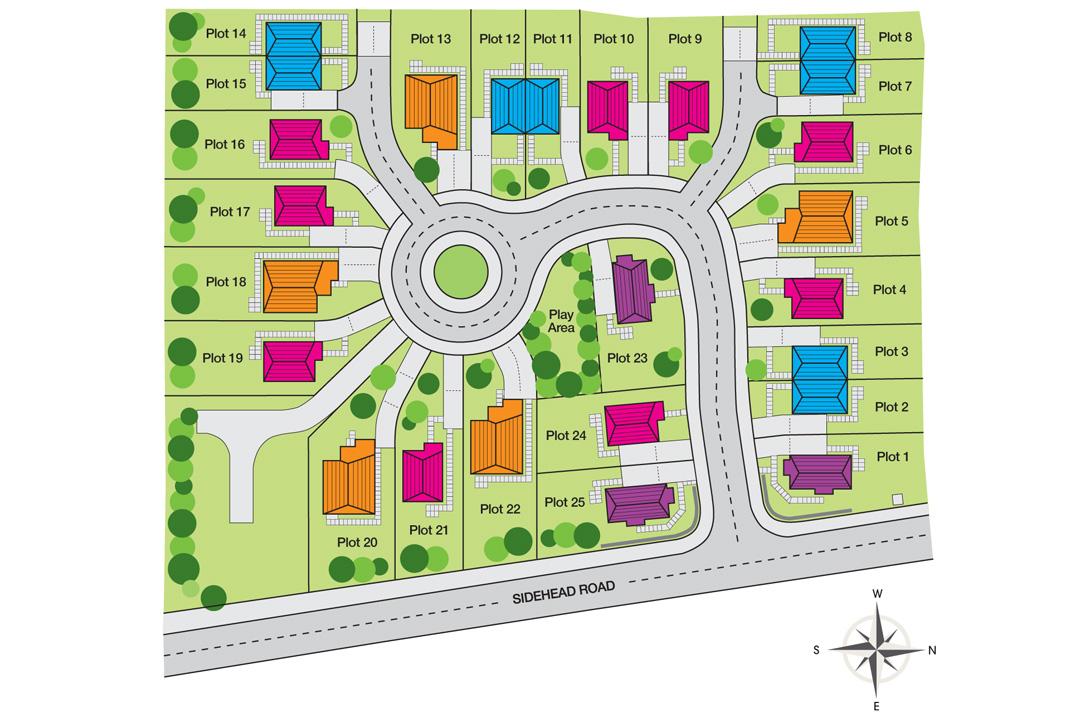 NURSERY GROVE SITE PLAN – Site Plot Plan